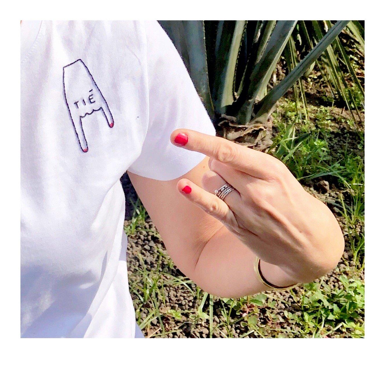 Image of TIÈ -maglietta