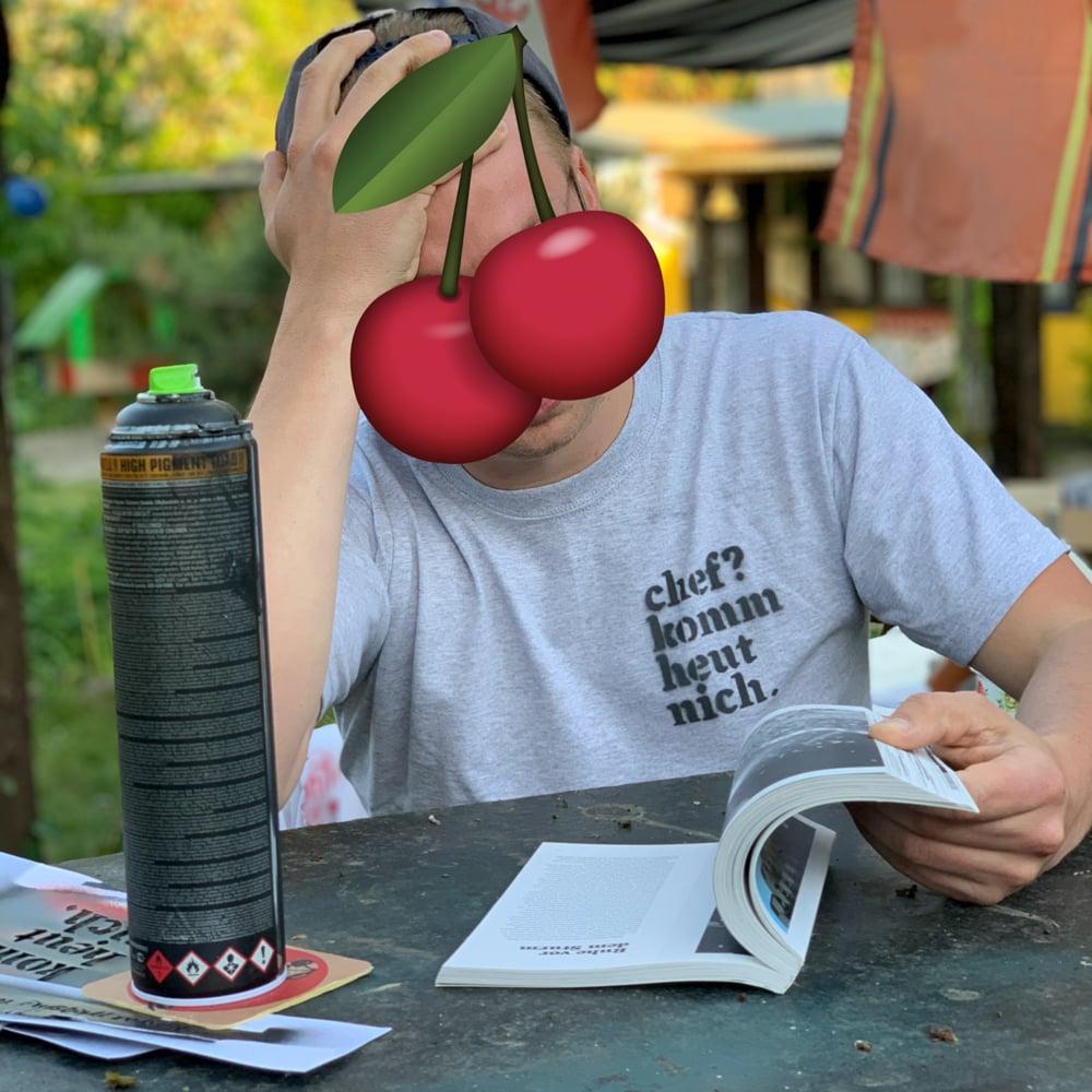 DIY Shirt — chef? komm heut nich.