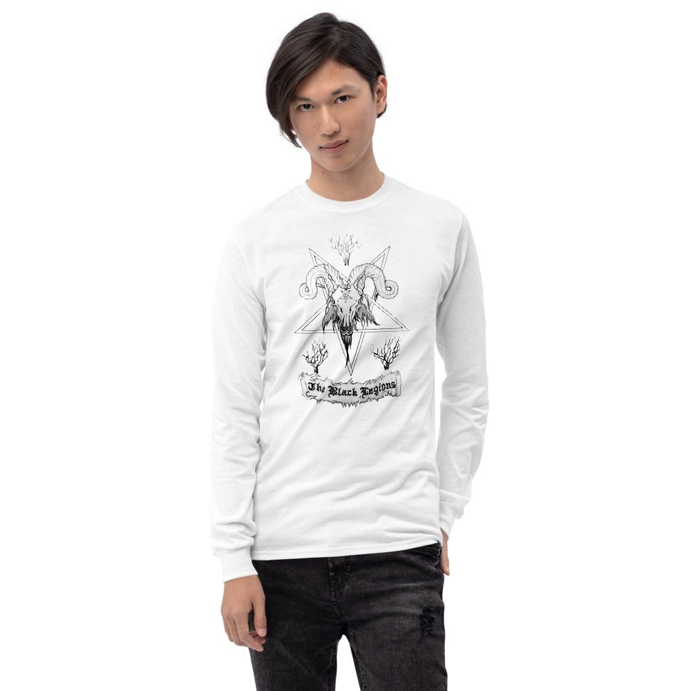 Image of Le Bouc Des Légions Version 0 Logo Long Sleeve T-Shirt