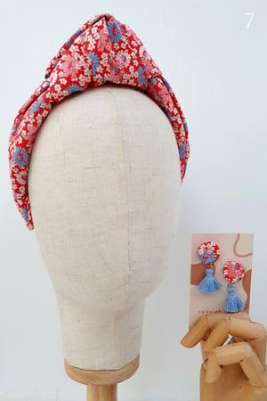 Image of Amelie Turban & Earrings Sets (7 Patterns)