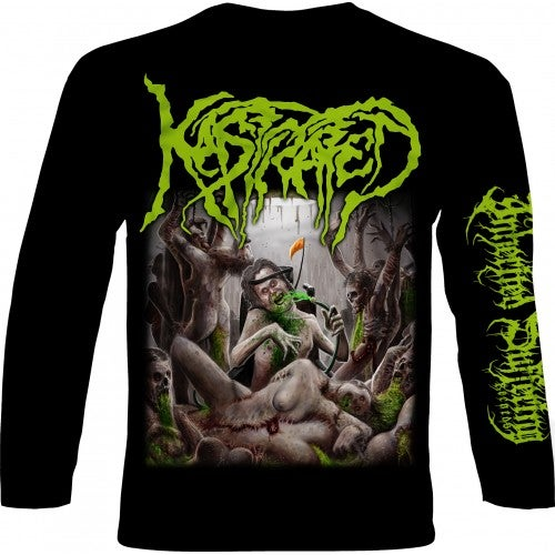 Image of Kastrated - Surge Of Festering Spasticity - Longsleeve