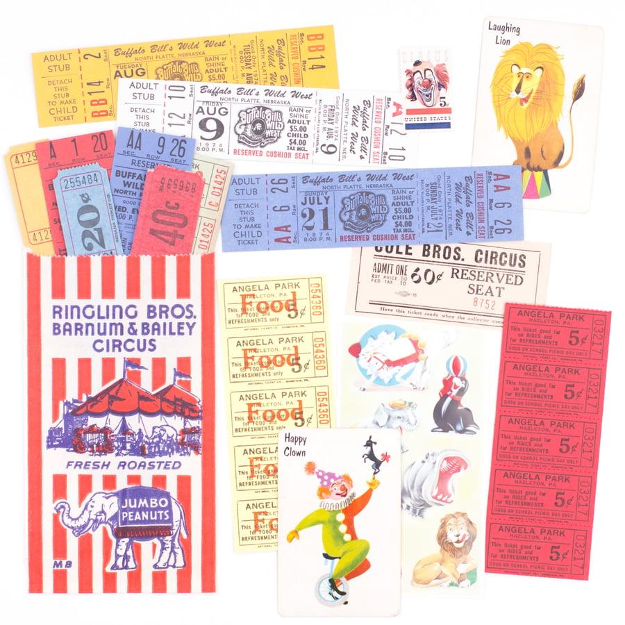 Image of Circus Ephemera in Roasted Peanuts Bag