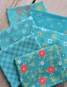 Image of Shades of Summer Teal Fat Quarter Pack