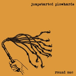Image of Jumpstarted Plowhards – Round One LP (blue vinyl)