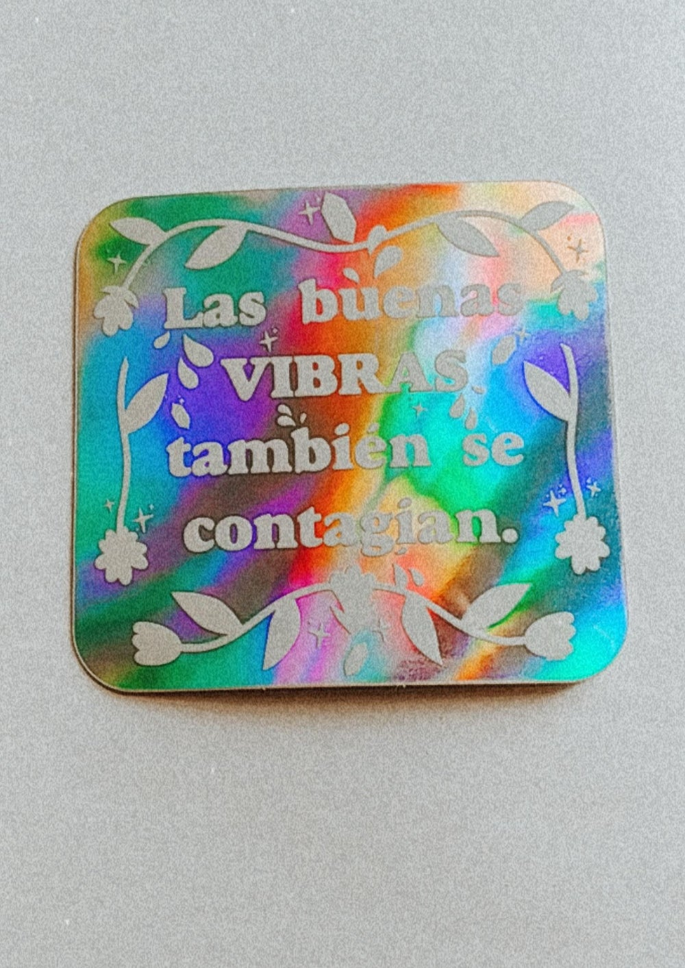 Image of Spread Good Vibes Holo Sticker
