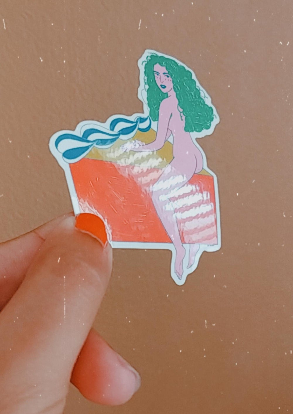 Image of Like a Snack Sticker