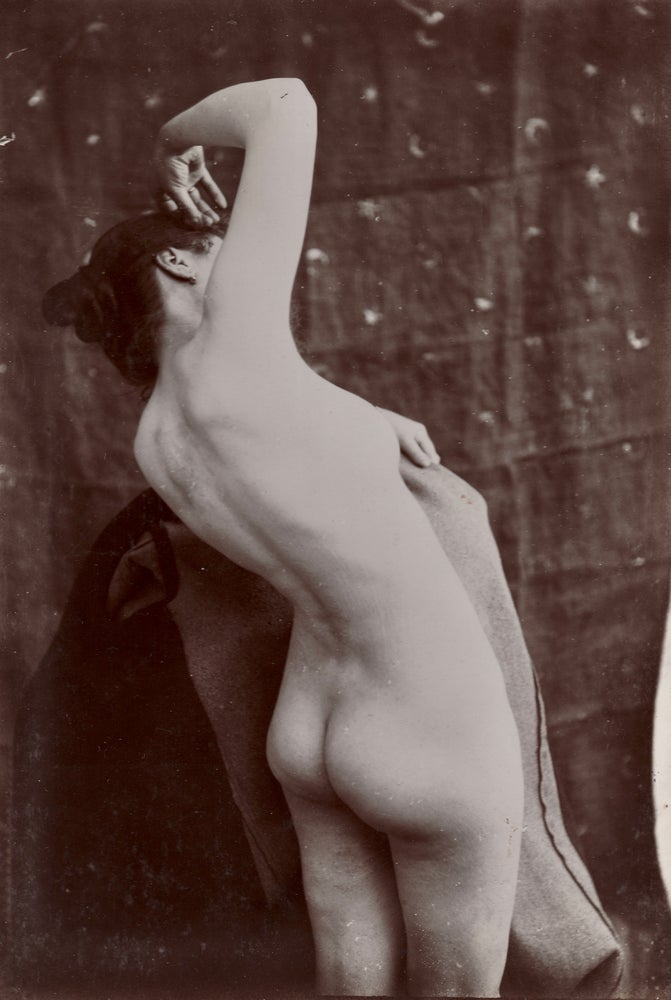 Image of Painter's study of a female nude, ca. 1890