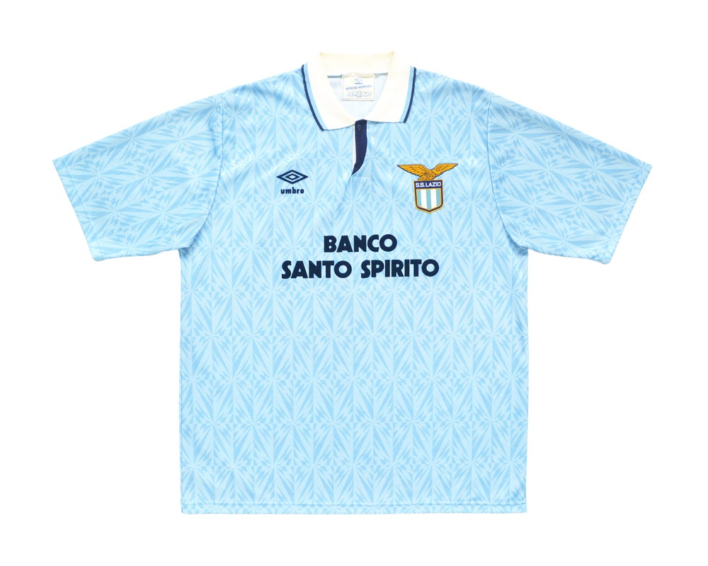 Image of 1991-92 Umbro Lazio Home Shirt L/XL