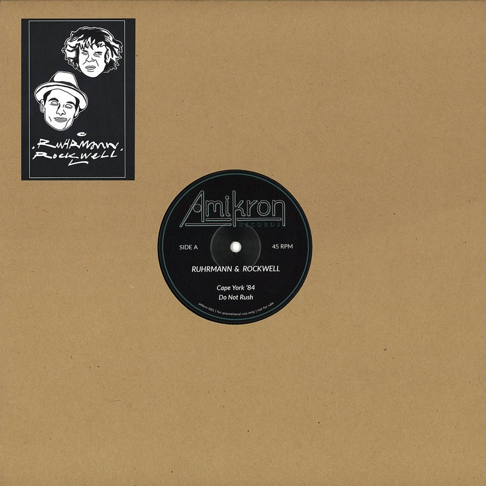 """Image of Ruhrmann & Rockwell - Library EP - 12"""" (AMIKRON)"""