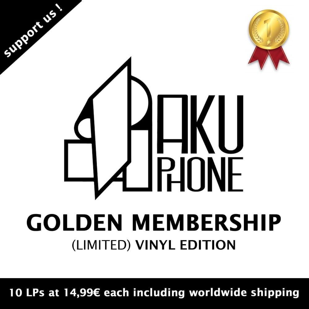 Image of 🥇 Golden Membership (10 Vinyls)