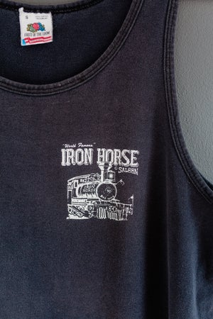 Image of Early 90's Iron Saloon 'Iron Horse' vest top