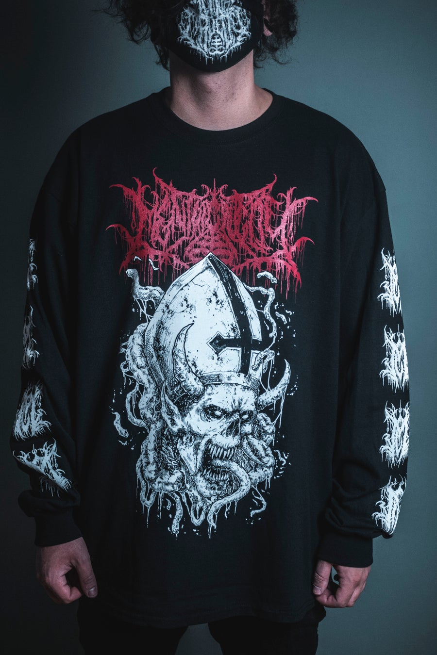 Image of PRIEST OF DAMNATION Long Sleeve SALE