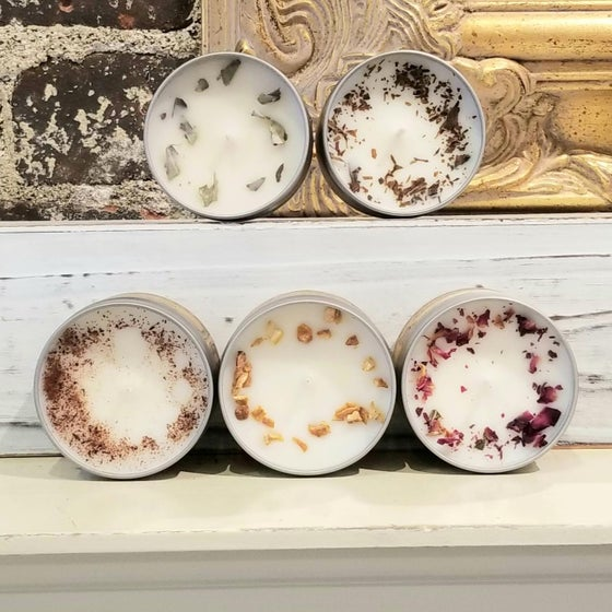 Image of Artisanal Botanical Candles
