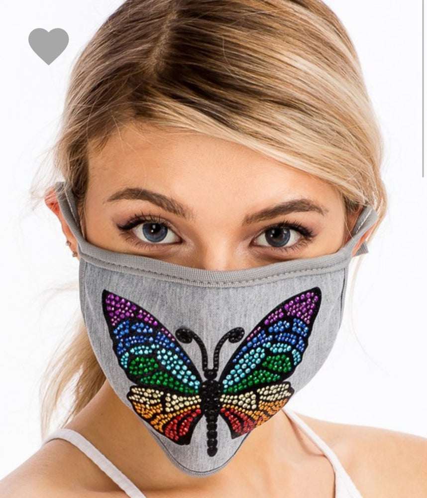 Image of Butterfly Bling Mask