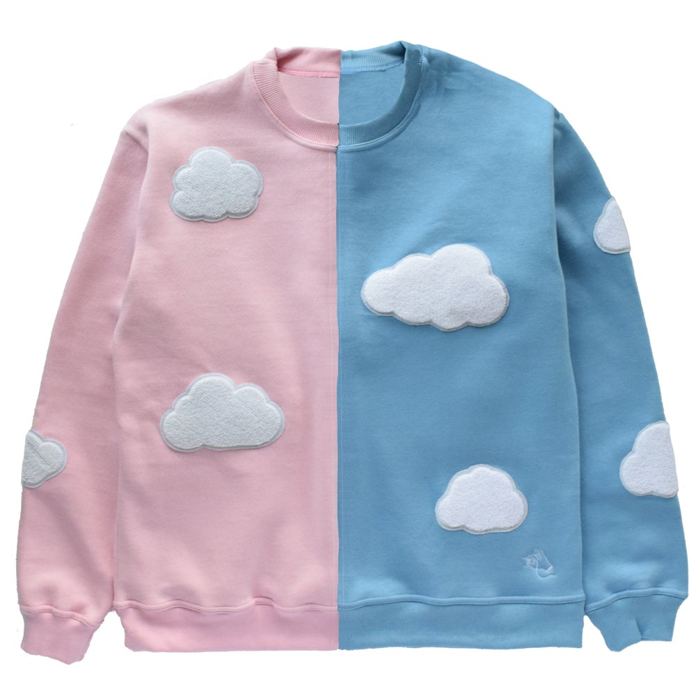 Image of Split Cloud Sweater