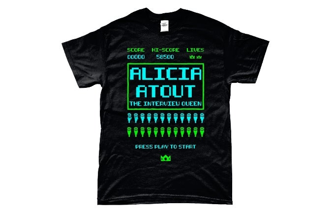 Image of Retro Alicia Atout Shirt