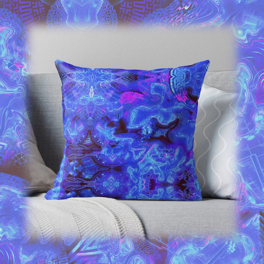 Image of LuminEssence Throw Pillow