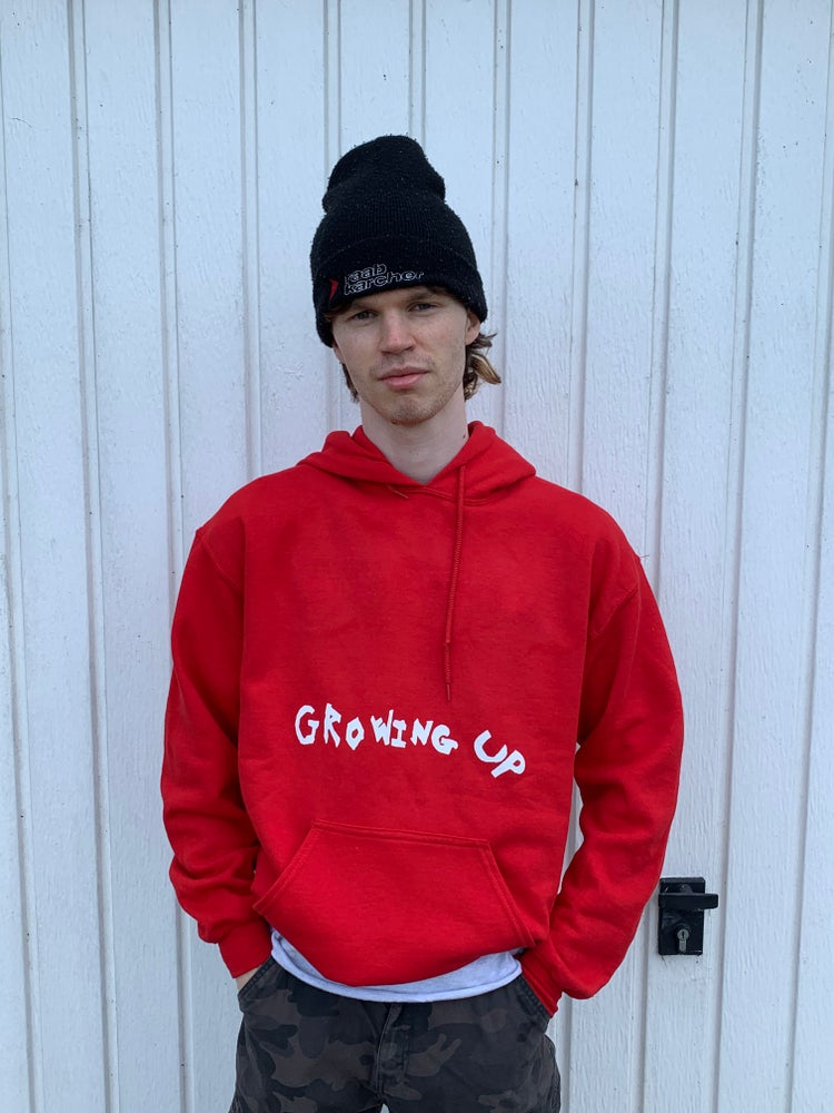 Image of Growing Up Hoodie