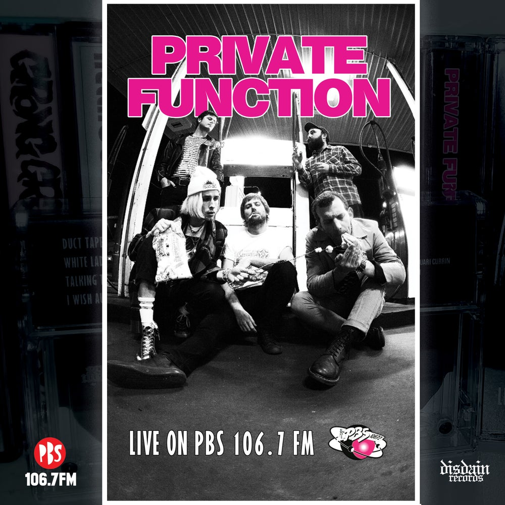 Image of Private Function - Live On PBS 106.7 FM Cassette