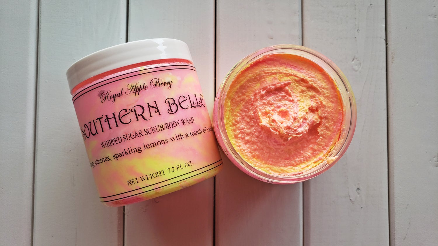 Image of SOUTHERN BELLE WHIPPED SUGAR SCRUB BODY WASH