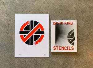 Image of DAVID KING - POSTER + BOOK COMBO