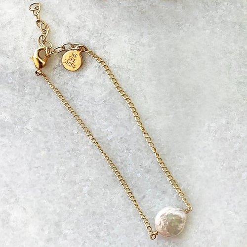 Image of Coin Pearl Bracelet