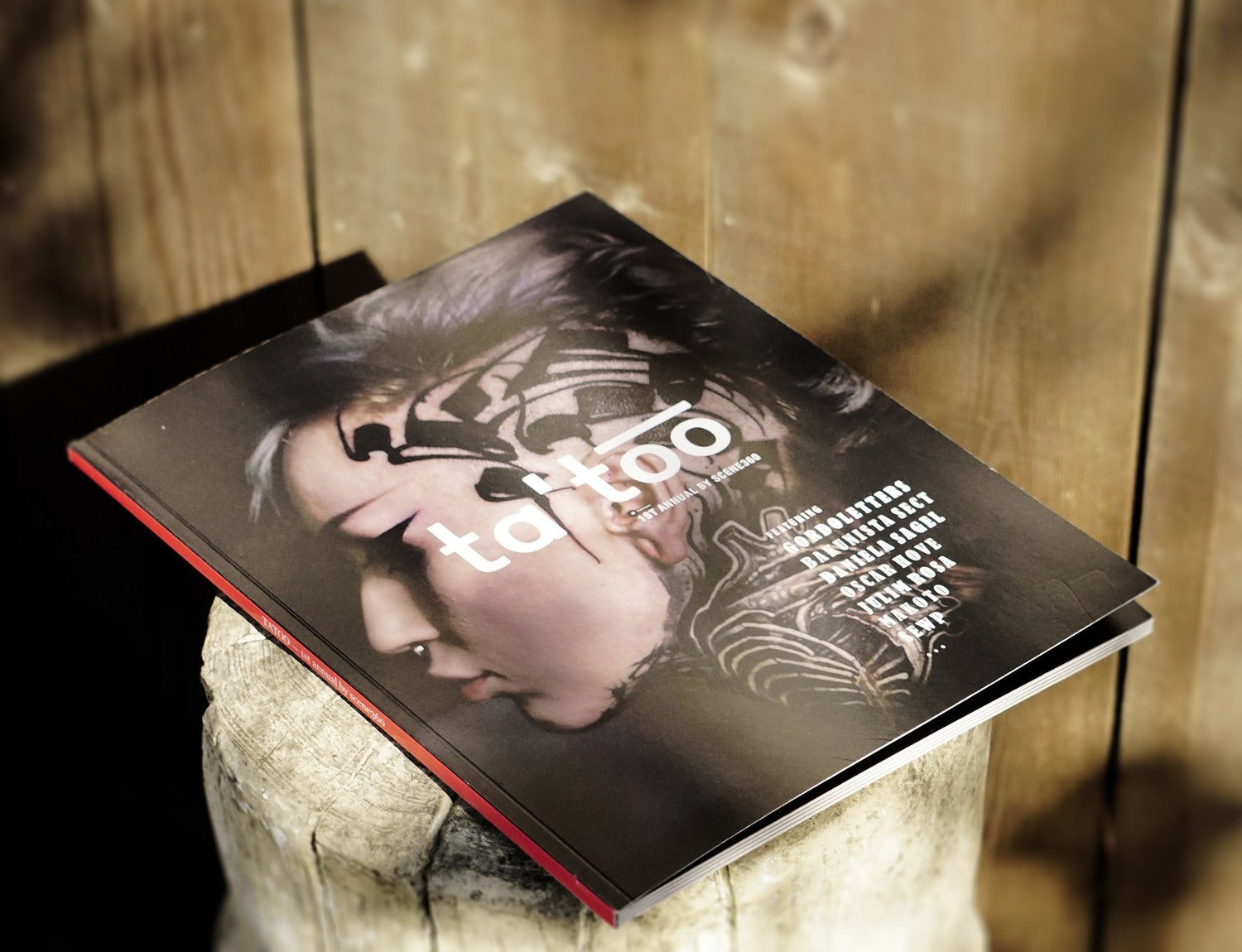 Image of TAT'OO — 1st Annual Book by Scene360 — SIGNED by Author