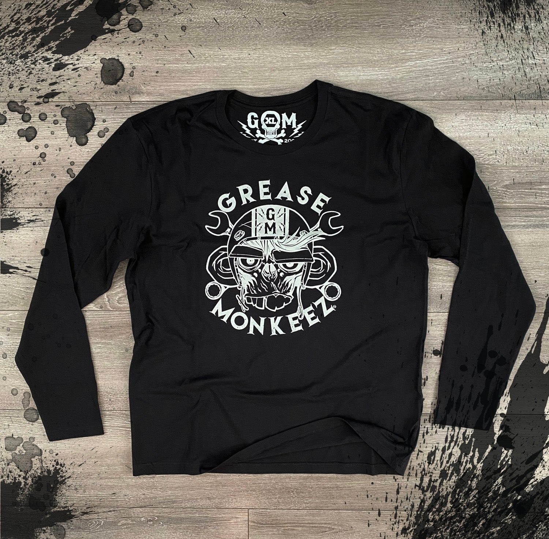 Image of Grease Monkeez - Long Sleeve Shirt - Logo