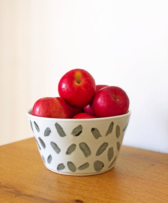 Image of Porcelain Patterned Bowl