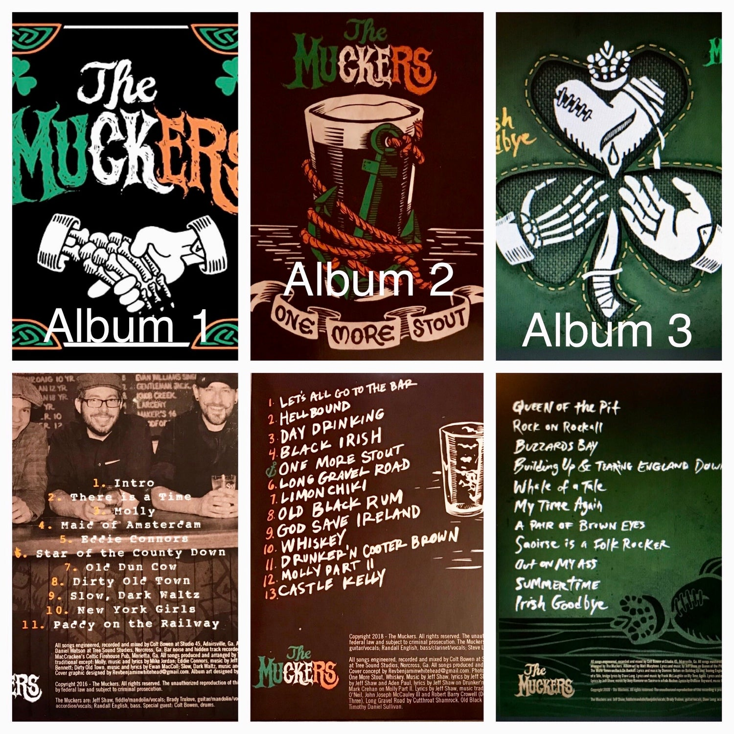 Image of The Muckers CDs