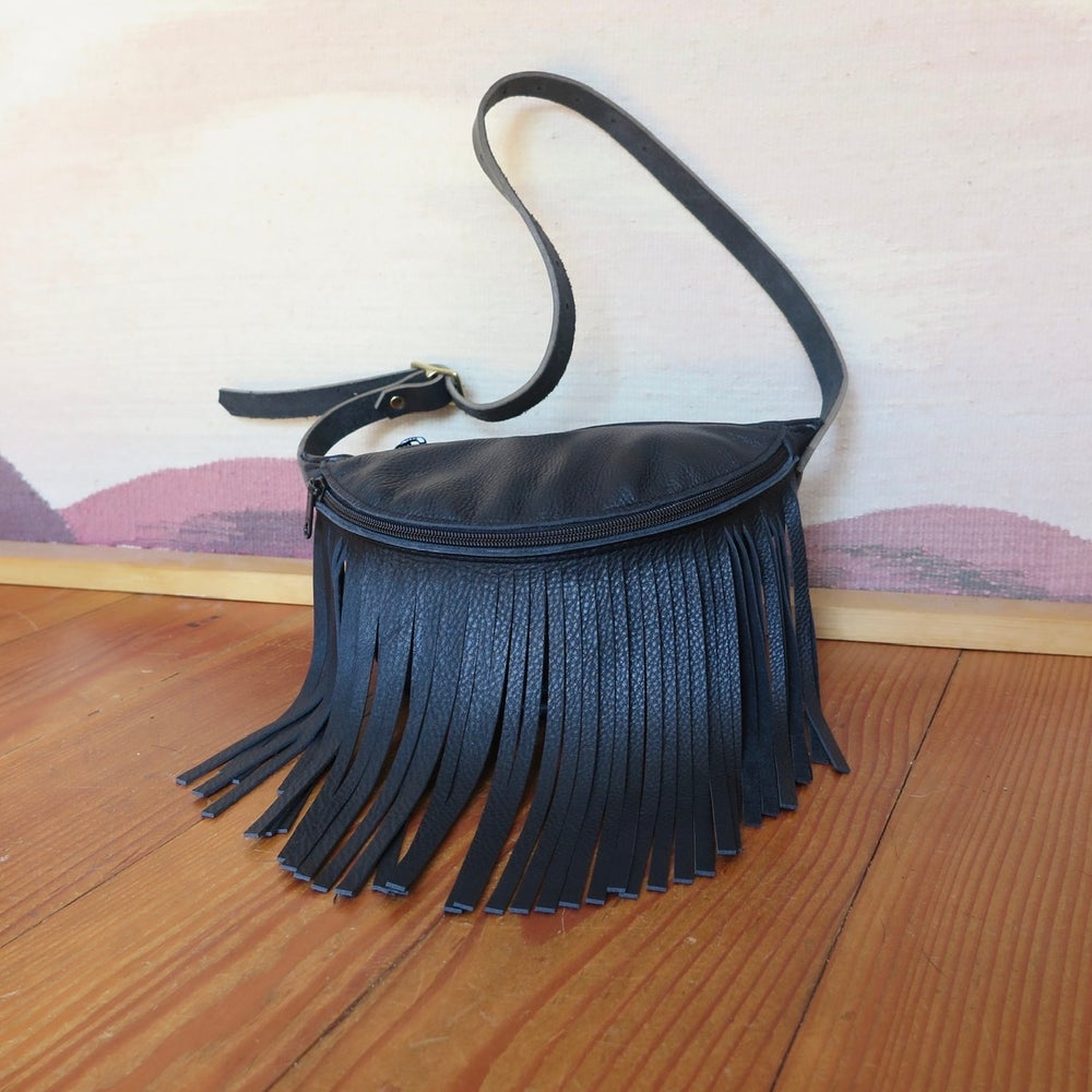 Image of fringe fanny pack
