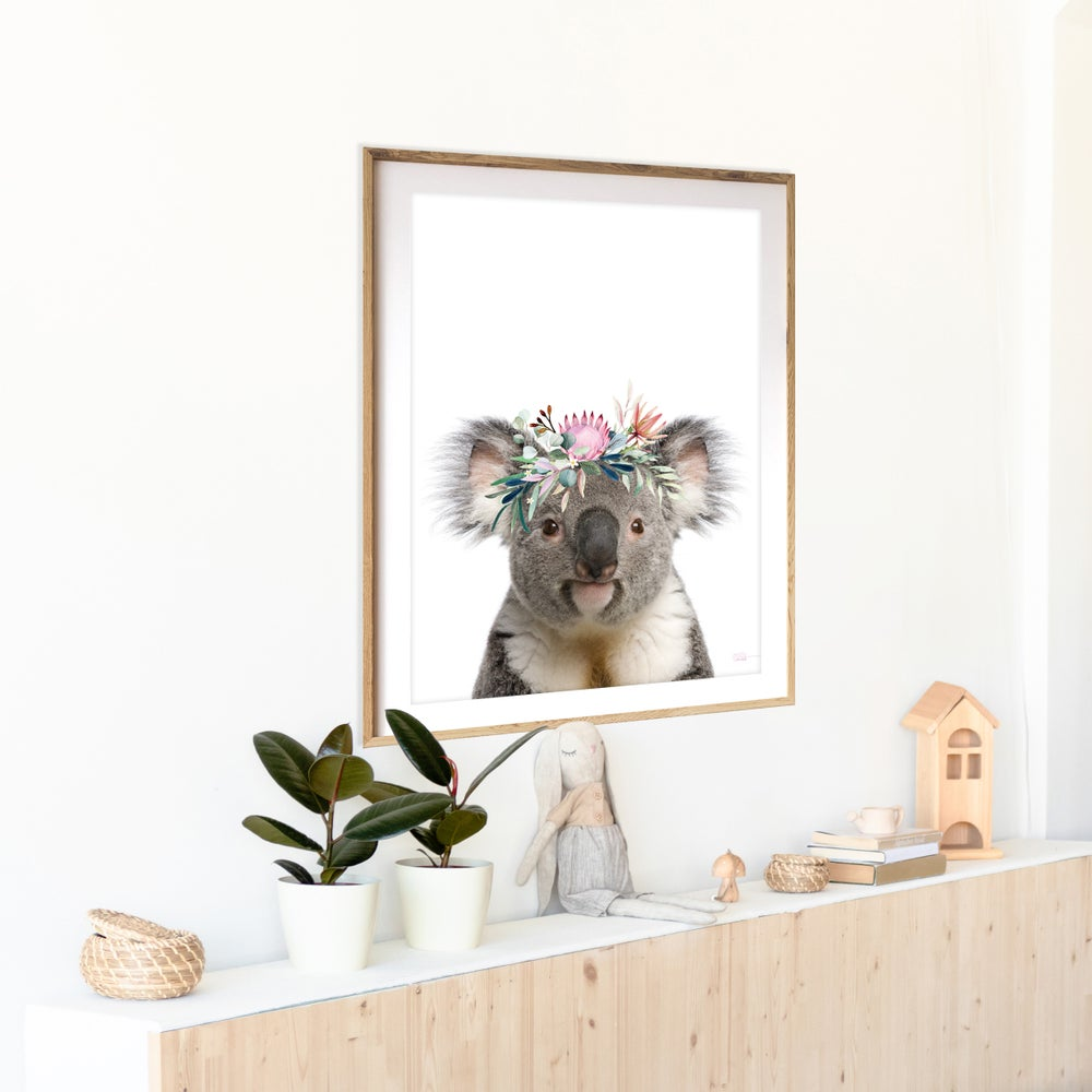 Image of Karen Koala / Colour - Art Print