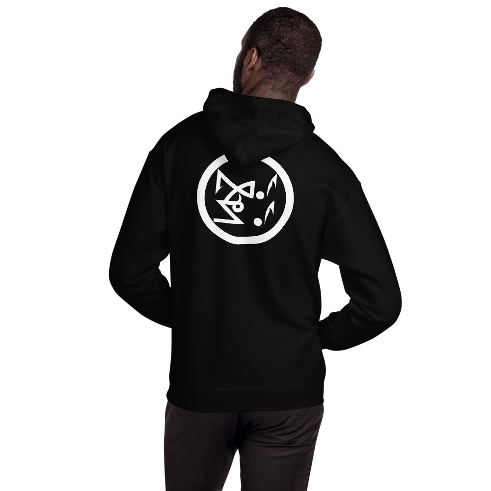 Image of Le Bouc Des Légions Version 1 and Black Legions Circle's Seal Hooded Sweatshirt