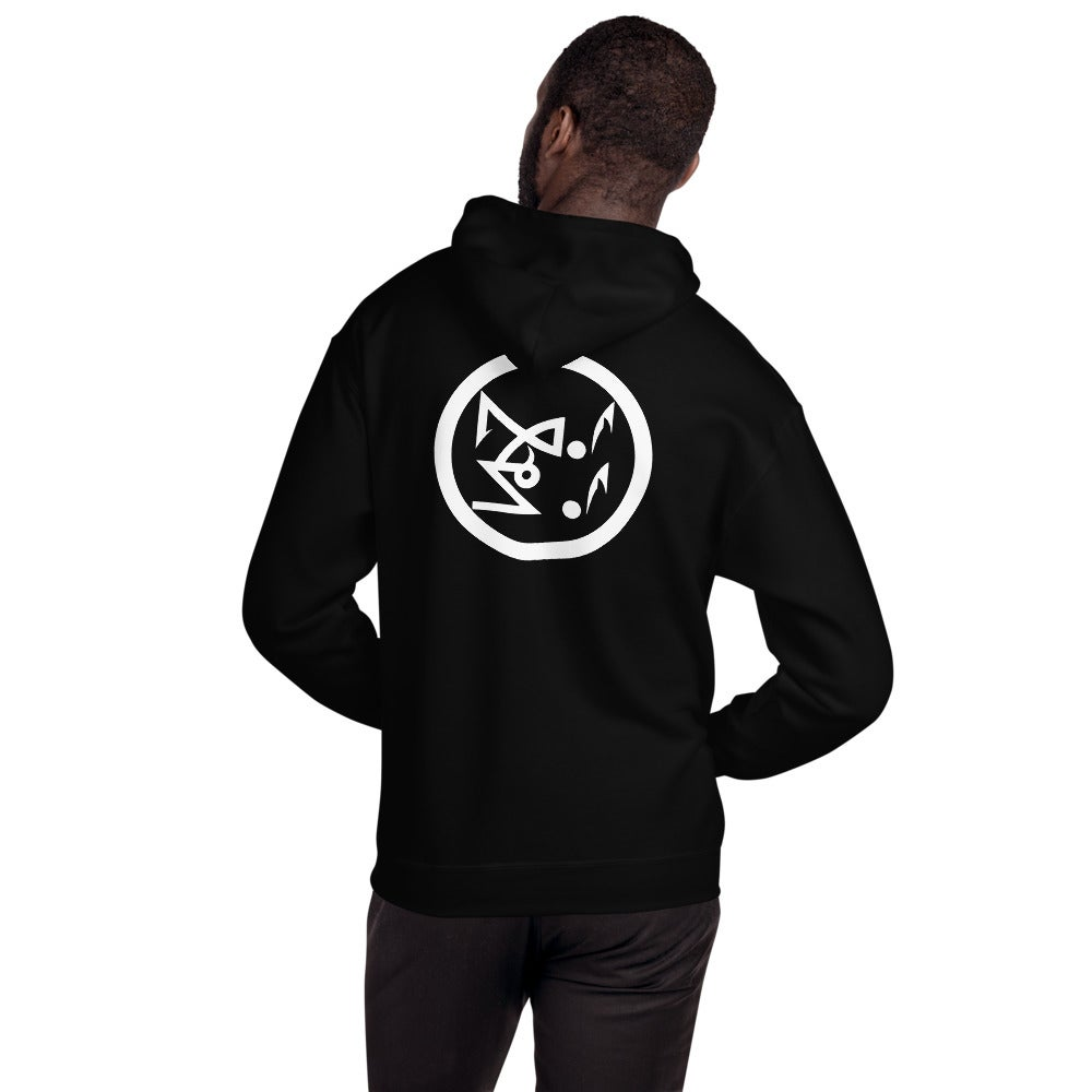 Image of Le Bouc Des Légions Version 3 and Black Legions Circle's Seal Hooded Sweatshirt