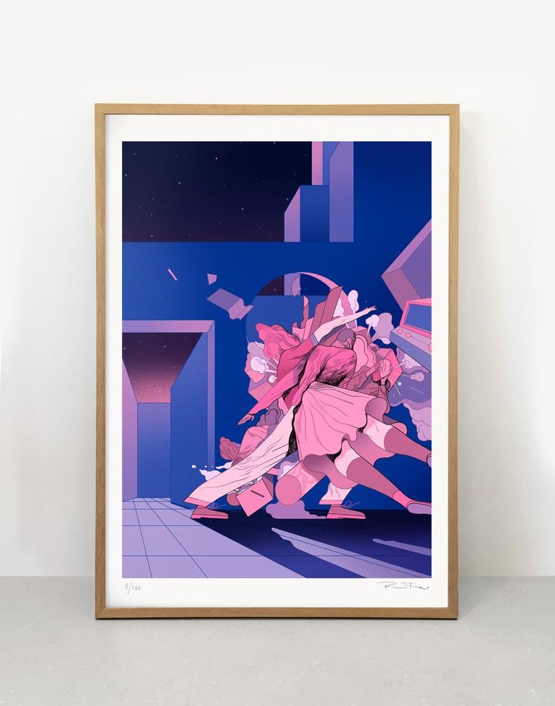 Image of The Blue City - Art print