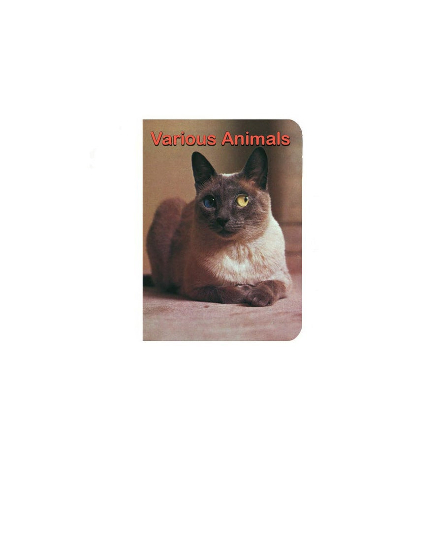 Image of 【Signed】'Various Animals' - book