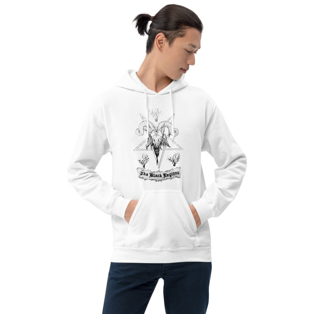 Image of Le Bouc Des Légions Version 0 Hooded Sweatshirt