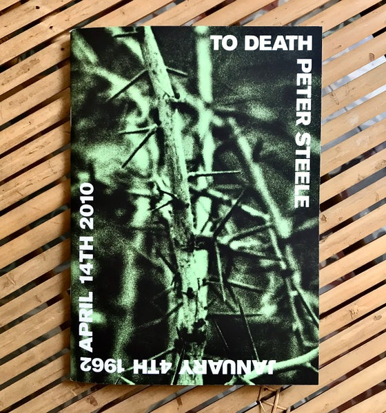 Image of To Death - Peter Steele Fanzine