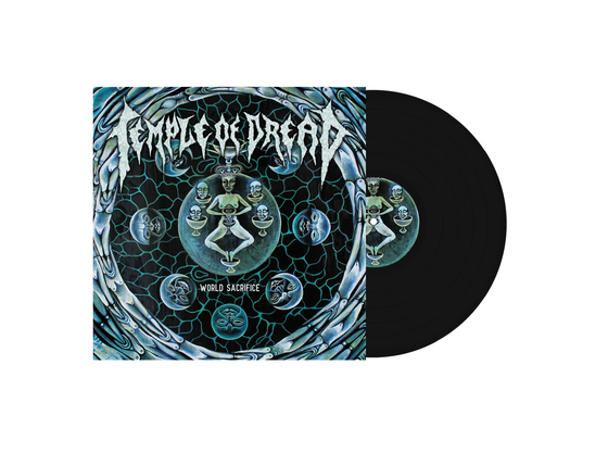 Image of Temple of Dread • World Sacrifice (Black Vinyl)