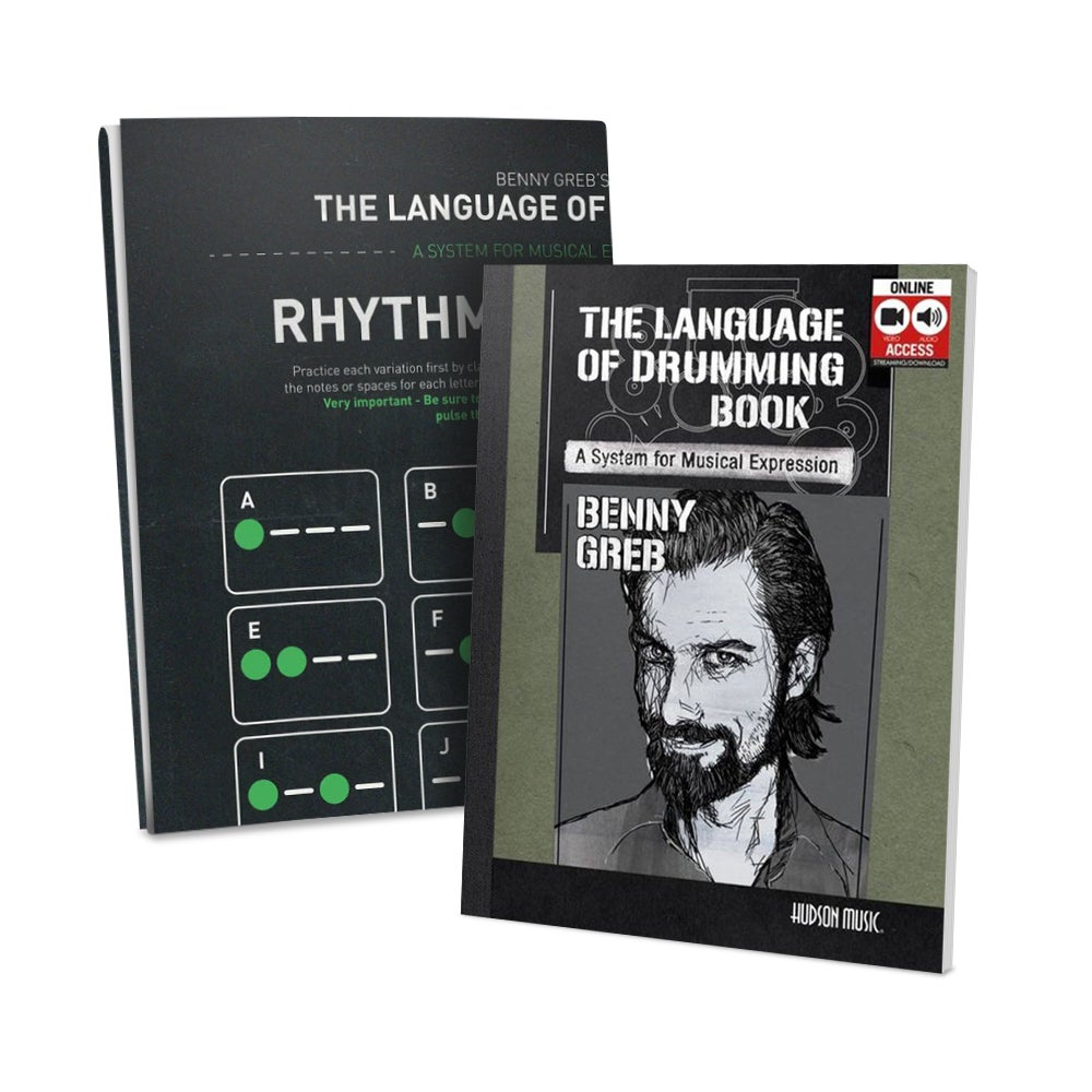 Image of Bundle: Language of Drumming Book & Poster