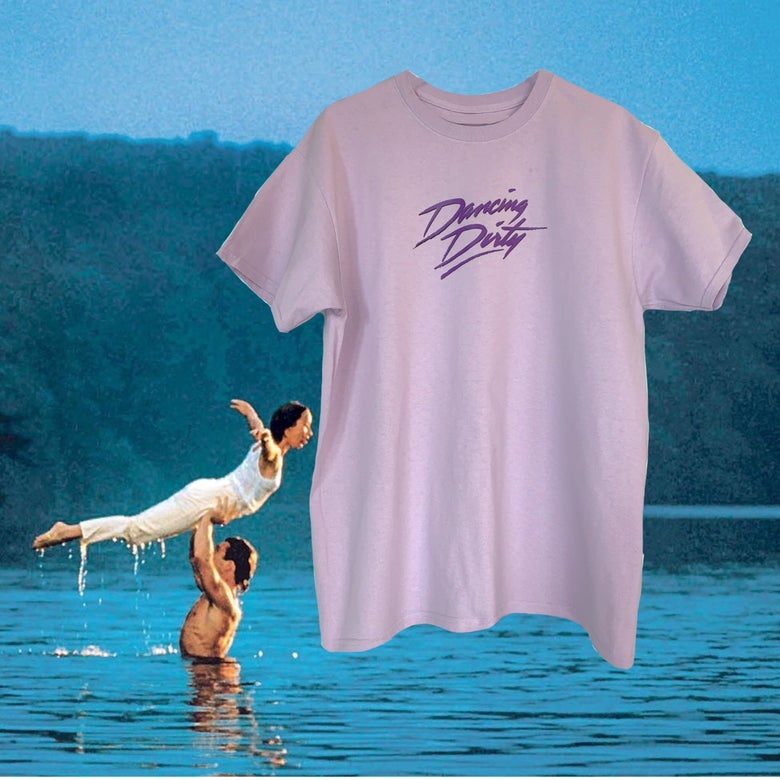Image of DANCING DIRTY / LILAC T-SHIRT