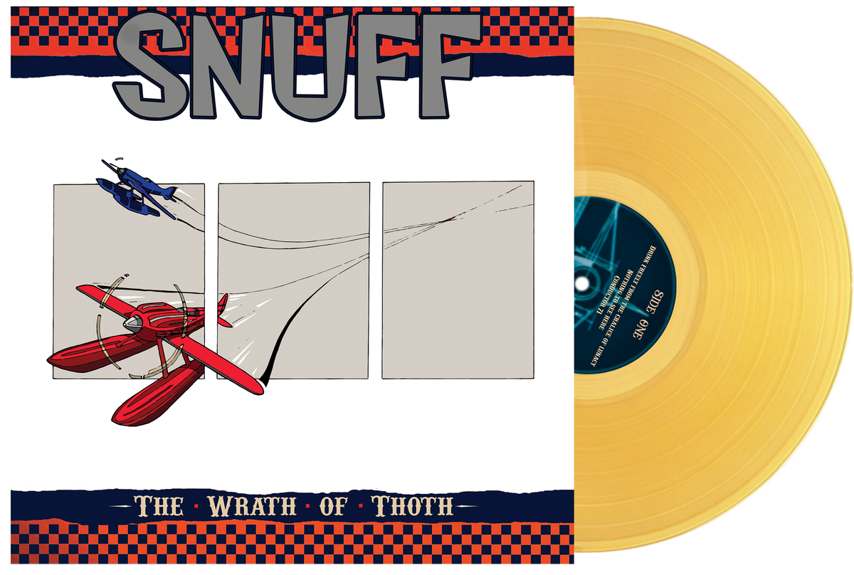 Snuff - The Wrath Of Thoth - 'Beer' Colour Vinyl