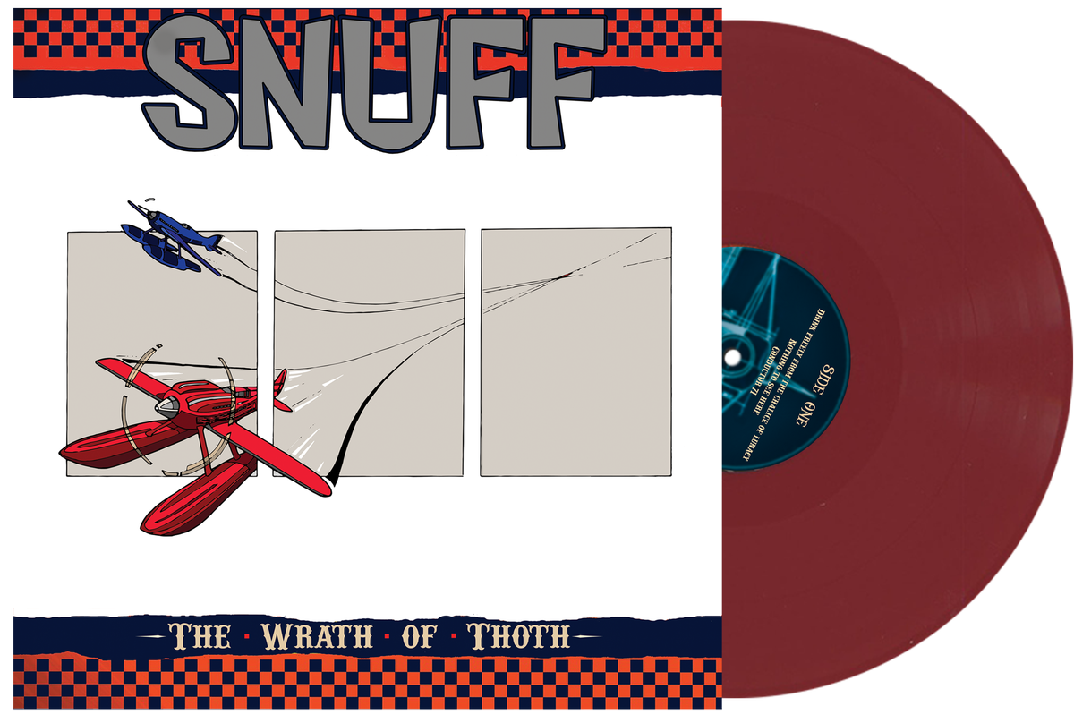 Snuff - The Wrath Of Thoth - 'Wine' Colour Vinyl