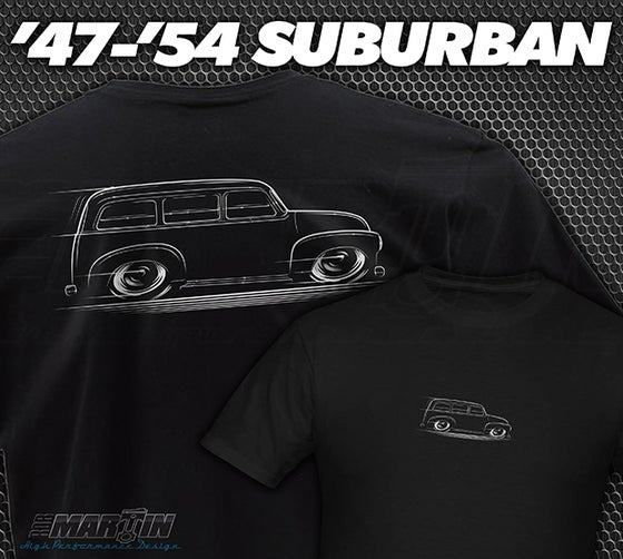 Image of '47-'54 Chevy/GMC Suburban T-Shirts Hoodies Banners