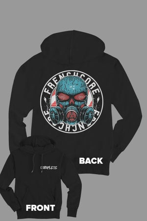Image of Complete Frenchcore Gasmask Hoodie