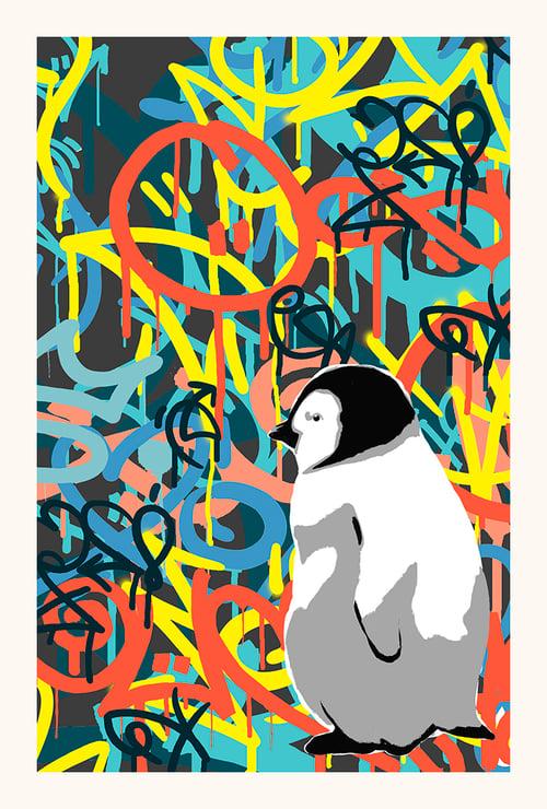 Image of Siri Røiseth - Graffitipingvin Ingrid