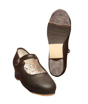 Image of Capezio Mary Jane Leather Tap Shoes 3800C