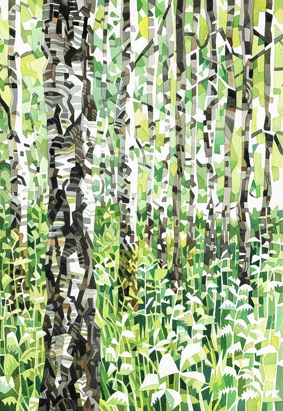 Image of Silver Birch print