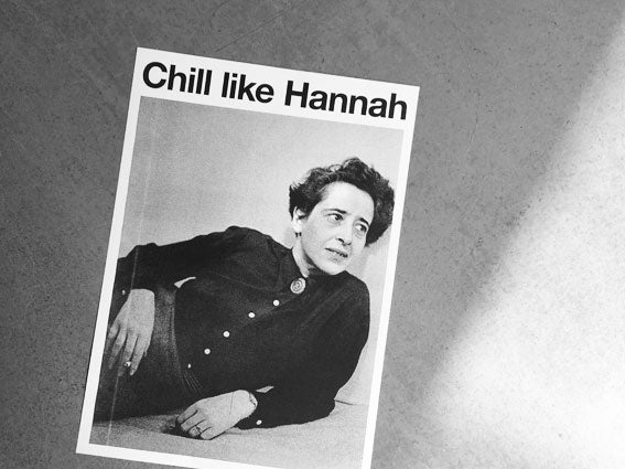 Image of RISOPRINT Chill like Hannah