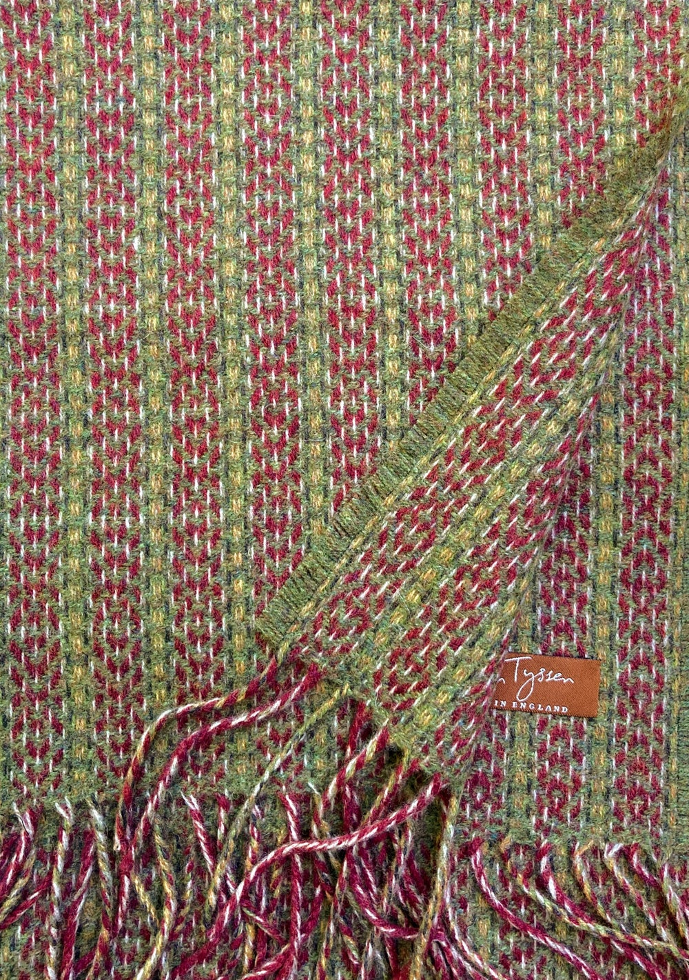 Image of Berry & Moss 'Deco Fan' scarf